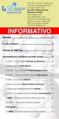 Informativo Especial - 2020