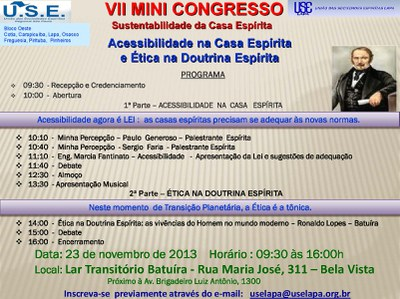 VII Mini Congresso
